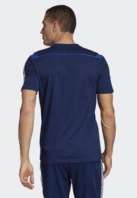adidas Performance - TIRO 19 AEROREADY CLIMALITE - T-shirt med print - blue - 1