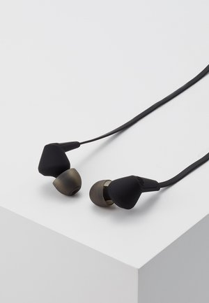 MADRID BLUETOOTH IN-EAR - Headphones - dark clown black