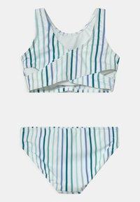 Abercrombie & Fitch - TWIST FRONT NECK SET - Bikini - blue - 1