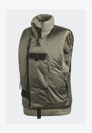 VEST URBAN COLD.RDY OUTDOOR DOWN VEST - Down jacket - dark green