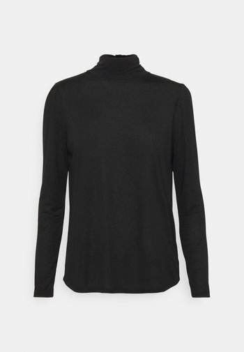 WOMENS - Long sleeved top - black