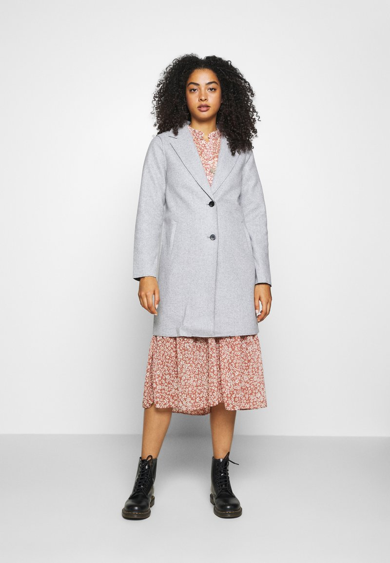 ONLY - ONLCARRIE BONDED - Classic coat - light grey