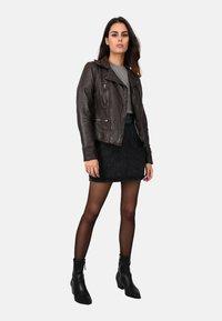 Oakwood - Leather jacket - light brown - 1
