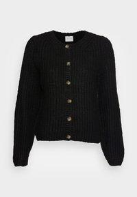 VISULLE CARDIGAN - Cardigan - black
