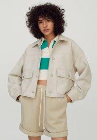 PULL&BEAR - Light jacket - beige - 0