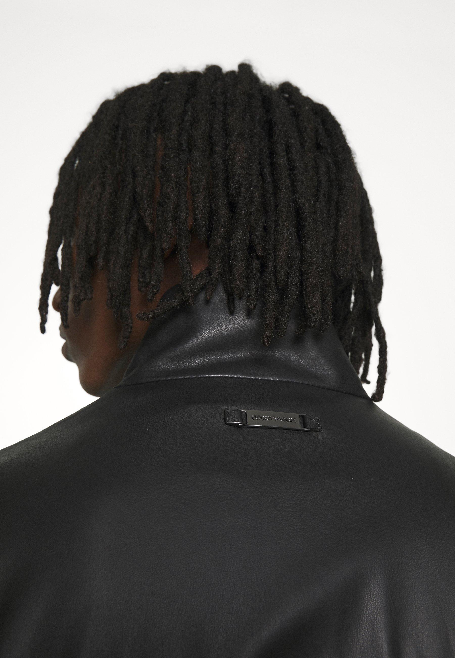 Men BLOUSON - Leather jacket