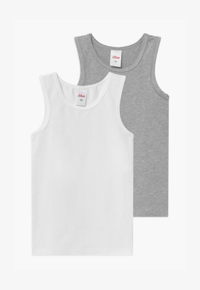 2 PACK - Undershirt - grey