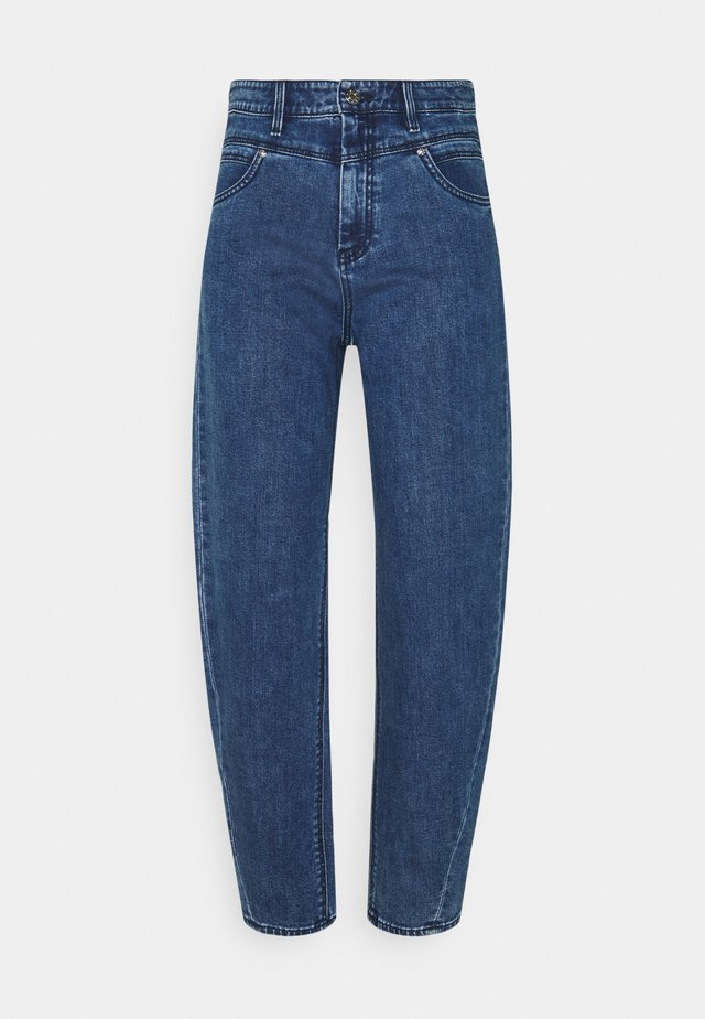 HOSE  - Jeans baggy - dark blue