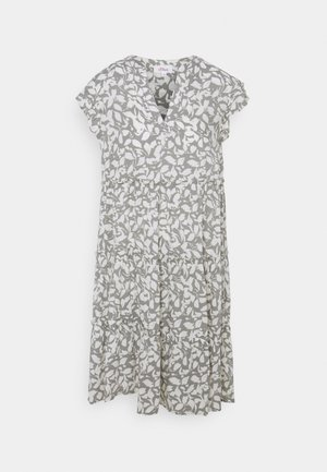 Day dress - summer khaki