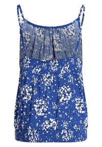 WE Fashion - MET BLOEMENDESSIN - Top - blue - 4