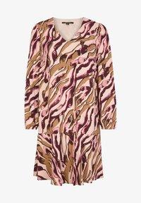 comma - MIT ALLOVER-PRINT - Day dress - pink zebra lines - 4