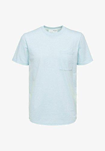 T-shirts basic - light blue melange