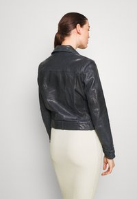 Pepe Jeans - AMELIA - Kožená bunda - admiral - 2