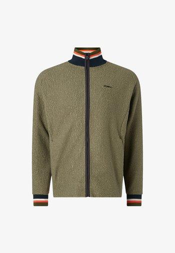 Zip-up sweatshirt - dusty olive