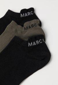Marc O'Polo - SNEAKER 3 PACK - Calze - grün - 2