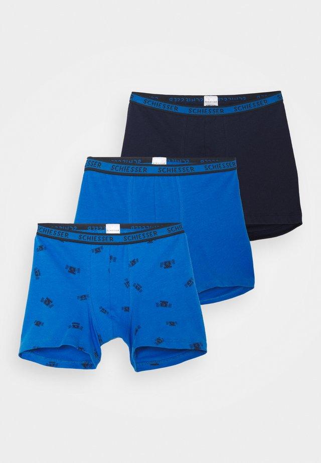 KIDS SHORTS 3 PACK - Onderbroeken - blue