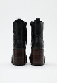 Jonak - KALI - Platform ankle boots - noir - 3