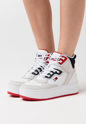 ICONIC MIDCUT  - High-top trainers - red/white/blue