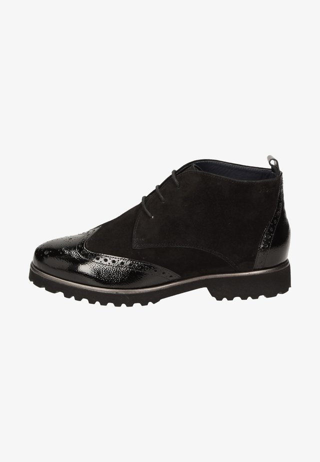 MEREDITH - Lace-up ankle boots - schwarz