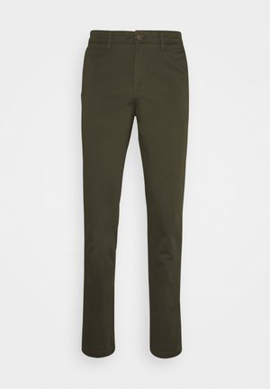 JJIMARCO JJBOWIE  - Pantalones chinos - forest night