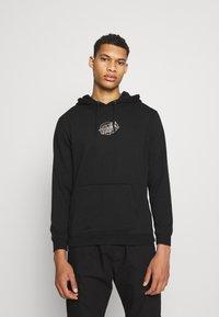 Santa Cruz - UNISEX UNIVERSAL DOT HOOD - Sweatshirt - black - 2