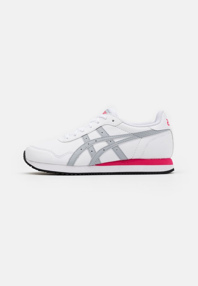 TIGER RUNNER - Sneakers basse - white/piedmont grey