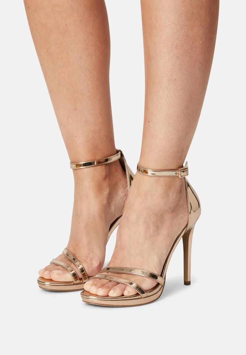 Steve Madden - BRYDGET - Platform sandals - rose gold
