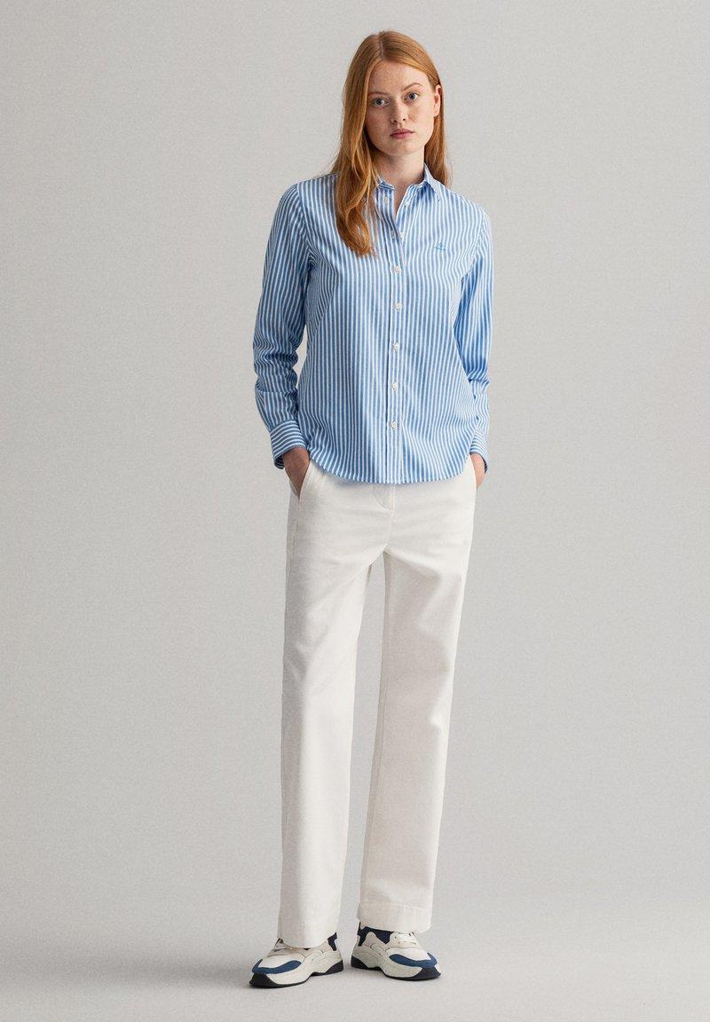 GANT - Button-down blouse - pacific blue