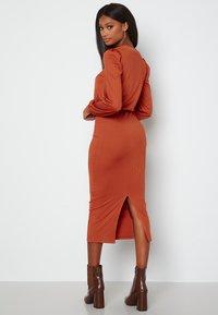 Bubbleroom - BESA - Shift dress - copper - 1