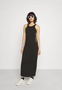 G-Star - MAXI TANK TOP DRESS - Jerseyjurk - dark black - 1
