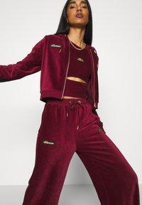 Ellesse - JUSTIA - Zip-up hoodie - burgundy - 3