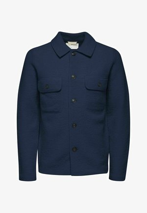 KENTKRAGEN - Giacca in pile - navy blazer