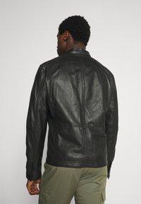 Strellson - FANE - Leather jacket - black - 3