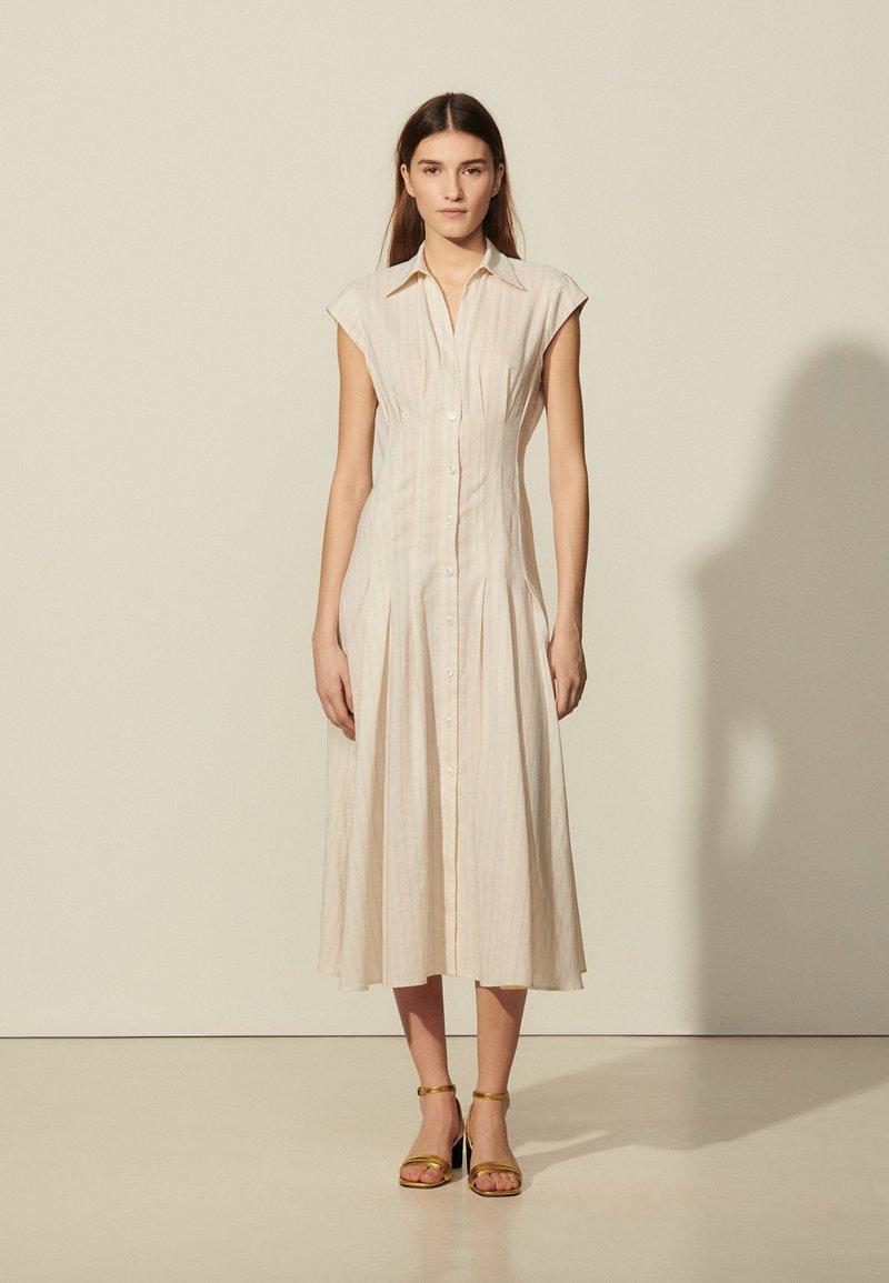 sandro - Maxi dress - ecru