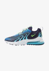 Nike Sportswear - AIR MAX 270 REACT ENG - Sneakers - blackened blue/green strike/pure platinum/team royal/blue fury/aura - 0