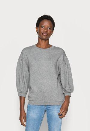 IMA  - Sweatshirt - mottled grey