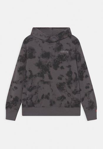 TIE DYE HOODIE - Sweater - magnet gray