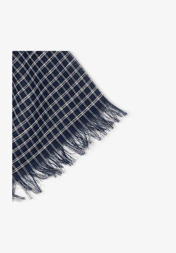 Sjaal - navy blau / weiß