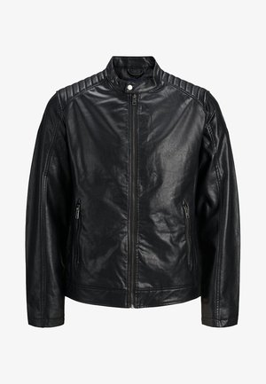 MOTOCROSS - Faux leather jacket - black