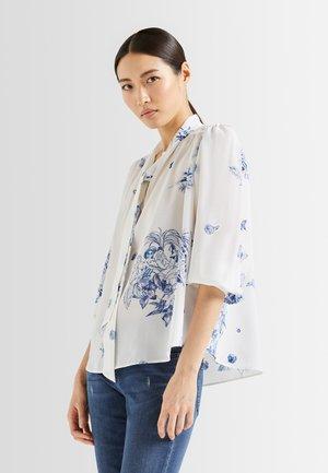 M-BAILA-PX - Long sleeved top - weiß blau