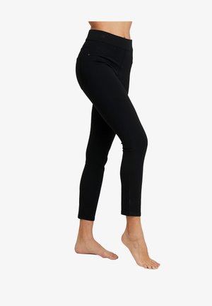 PONTE - Legging - very black