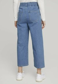 TOM TAILOR DENIM - Flared Jeans - used mid stone blue denim - 2