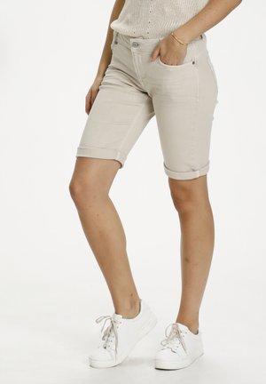 DHOFELIA - Denim shorts - crockery