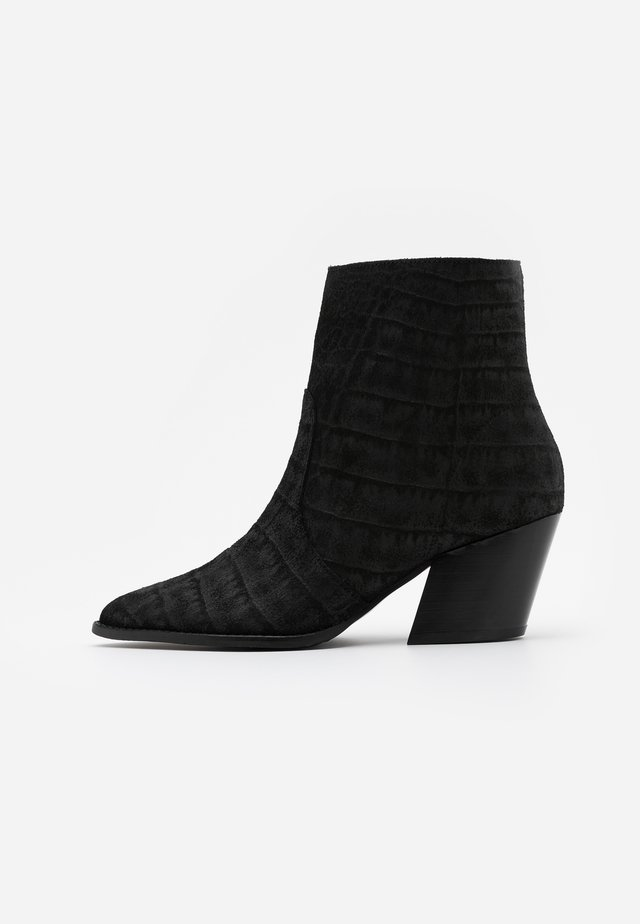 SLFJULIE BOOT - Bottines - black