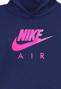 Nike Sportswear - AIR PULL OVER HOODIE - Hoodie - blue void - 3