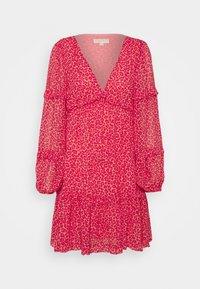 TENTY CHEETAH MINI DRESS - Day dress - blush pink