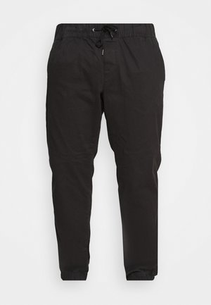 JJIVEGA JJJOGGER - Trousers - black