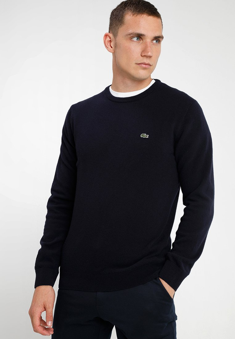 Lacoste - Sweter - navy blue/sinople-flour