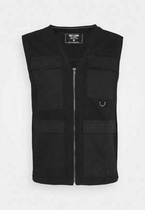 ONSKING LIFE  - Waistcoat - black