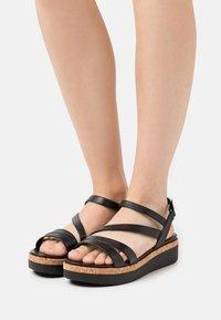 Tamaris GreenStep - Platform sandals - black - 0